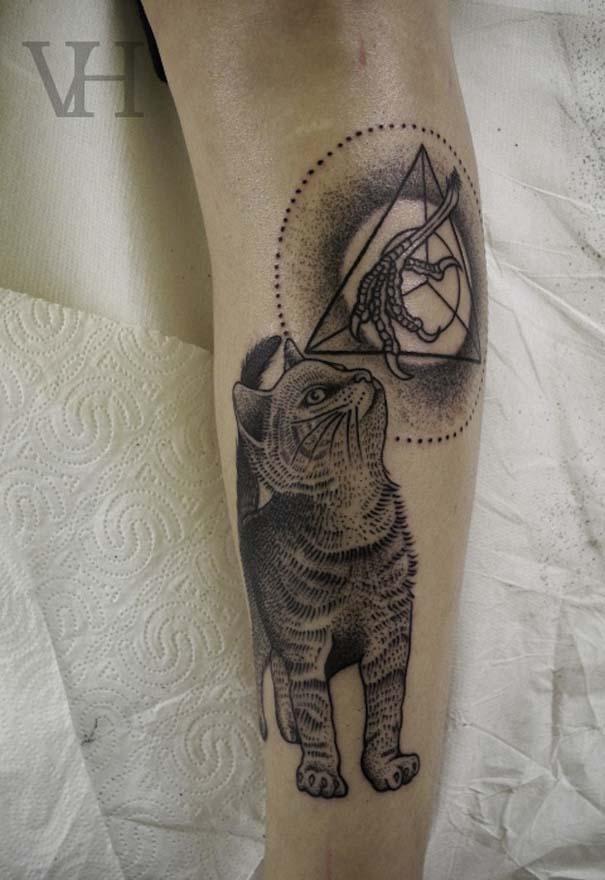 Τατουάζ με γάτες (26)