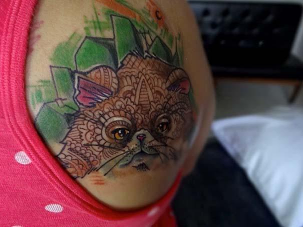 Τατουάζ με γάτες (30)