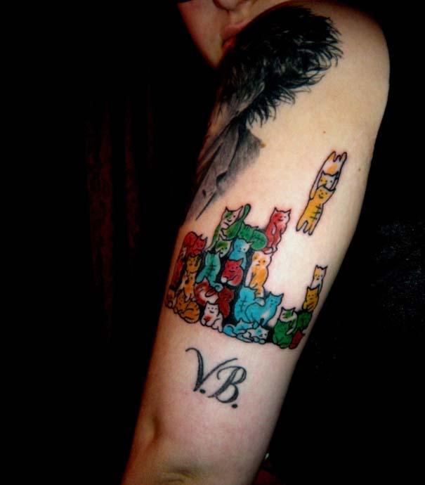 Τατουάζ με γάτες (32)