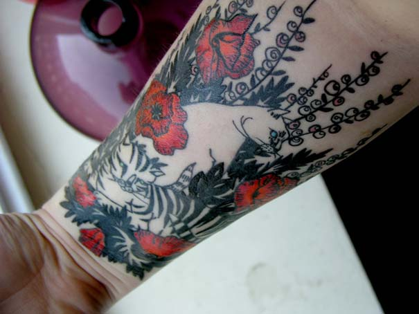 Τατουάζ με γάτες (33)