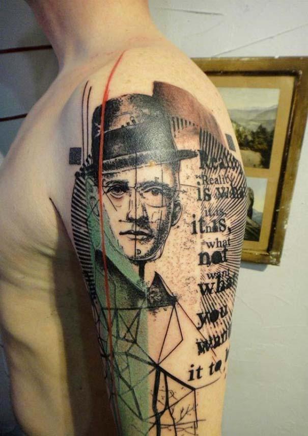 Τατουάζ που μοιάζουν βγαλμένα από το Photoshop (2)