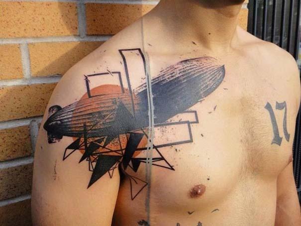 Τατουάζ που μοιάζουν βγαλμένα από το Photoshop (5)