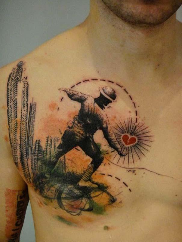 Τατουάζ που μοιάζουν βγαλμένα από το Photoshop (15)