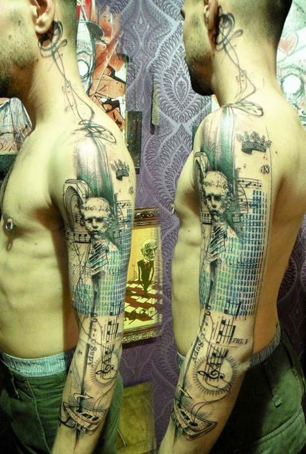 Τατουάζ που μοιάζουν βγαλμένα από το Photoshop (18)