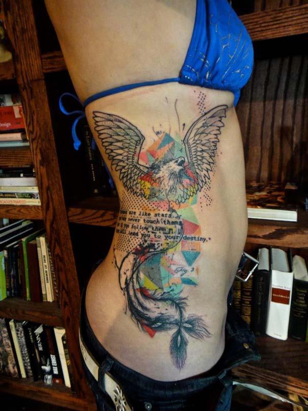 Τατουάζ που μοιάζουν βγαλμένα από το Photoshop (28)