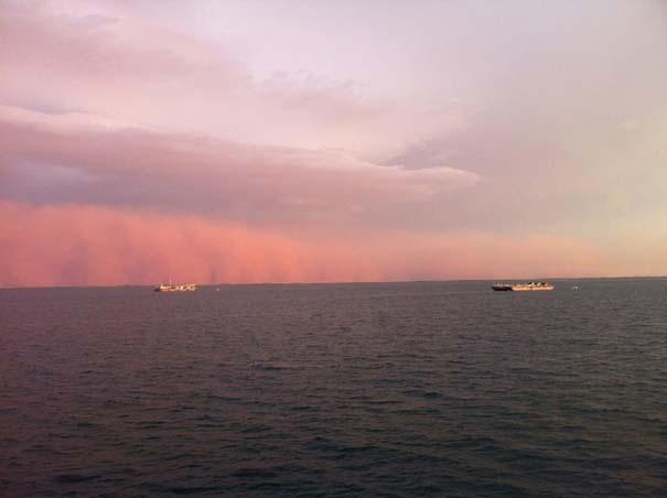 «Τσουνάμι» σκόνης στην Αυστραλία (1)