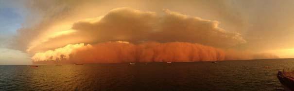 «Τσουνάμι» σκόνης στην Αυστραλία (2)