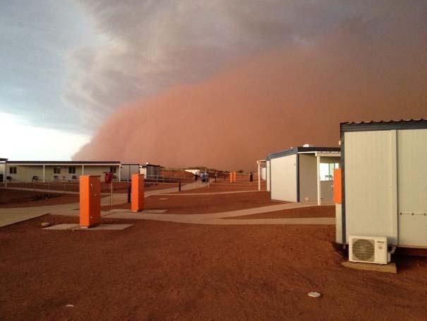 «Τσουνάμι» σκόνης στην Αυστραλία (5)
