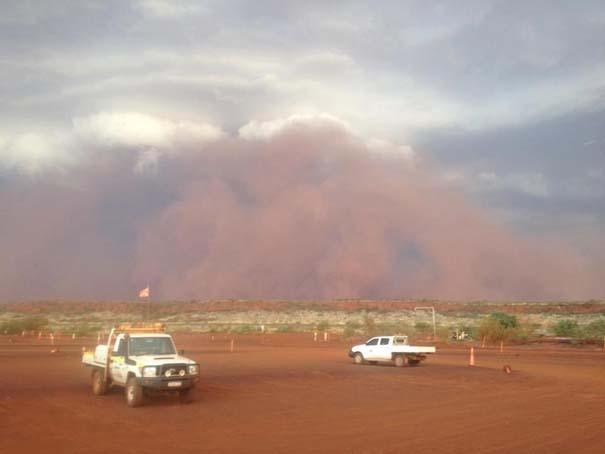 «Τσουνάμι» σκόνης στην Αυστραλία (6)