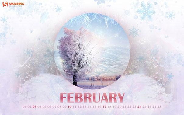 Wallpapers ημερολόγια Φεβρουαρίου 2013 (2)