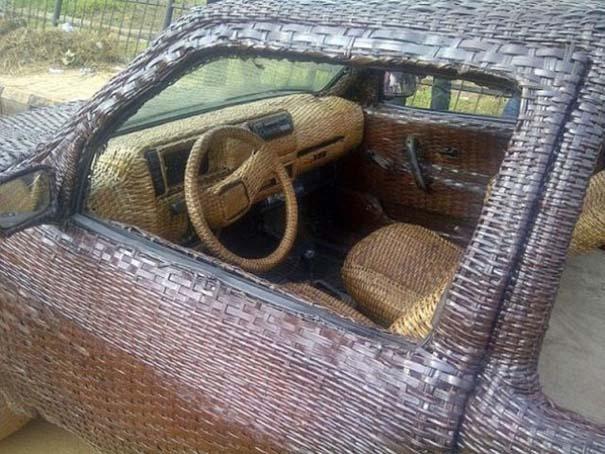 Χειροποίητο αυτοκίνητο στη Νιγηρία (2)
