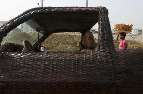 Χειροποίητο αυτοκίνητο στη Νιγηρία (7)