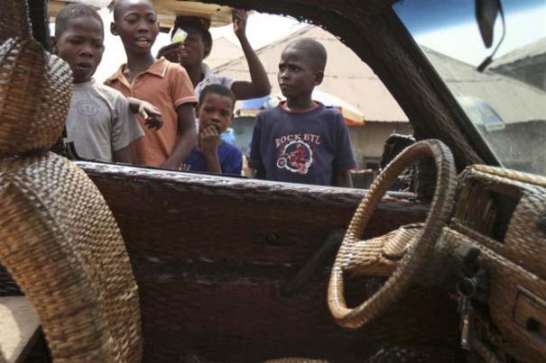 Χειροποίητο αυτοκίνητο στη Νιγηρία (8)