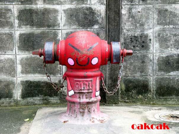 Χιουμοριστική τέχνη του δρόμου από τον OaKoAk (12)