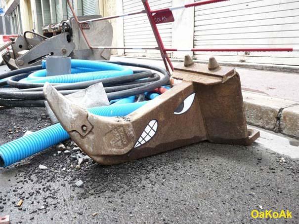 Χιουμοριστική τέχνη του δρόμου από τον OaKoAk (15)