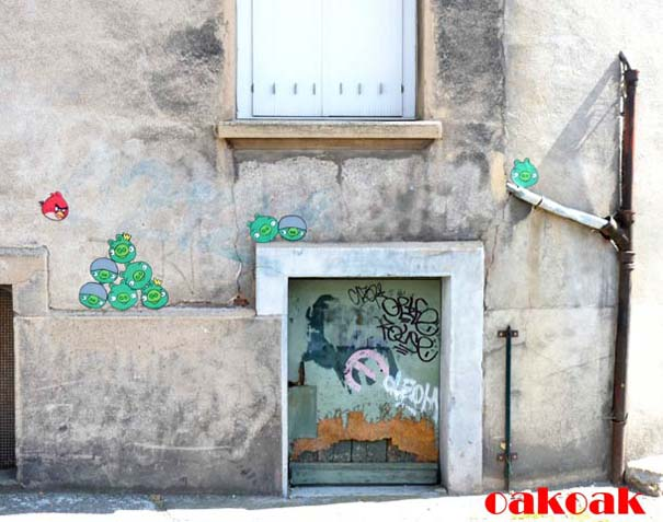 Χιουμοριστική τέχνη του δρόμου από τον OaKoAk (17)