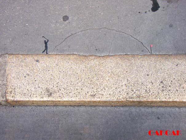 Χιουμοριστική τέχνη του δρόμου από τον OaKoAk (23)
