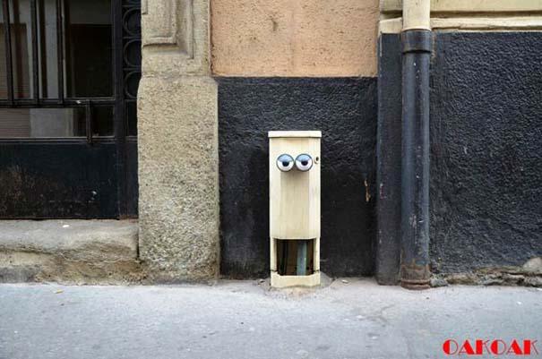 Χιουμοριστική τέχνη του δρόμου από τον OaKoAk (26)