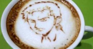 Υπέροχη τέχνη σε καφέ #5