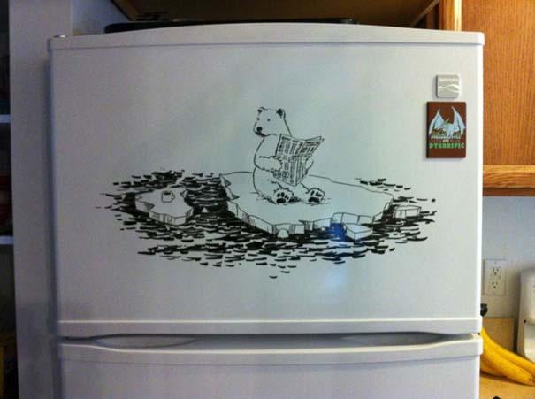 Ζωγραφική... στο ψυγείο (2)