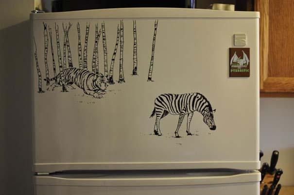 Ζωγραφική... στο ψυγείο (3)