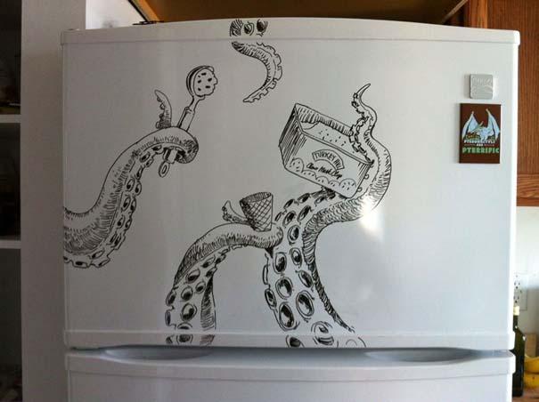 Ζωγραφική... στο ψυγείο (4)