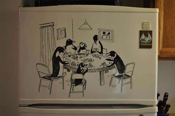 Ζωγραφική... στο ψυγείο (6)