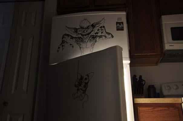 Ζωγραφική... στο ψυγείο (10)