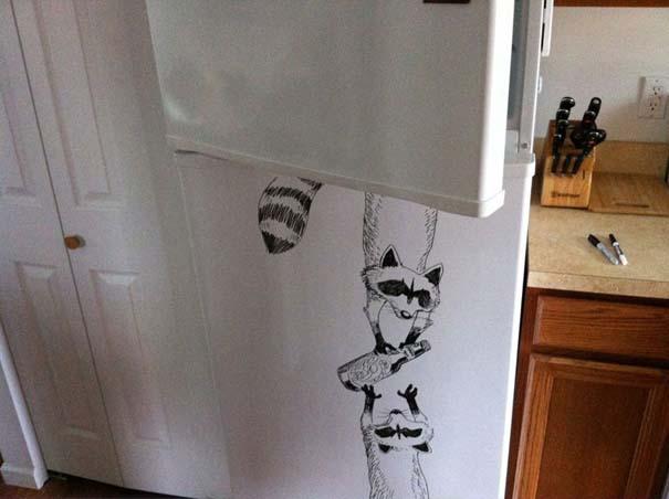 Ζωγραφική... στο ψυγείο (11)