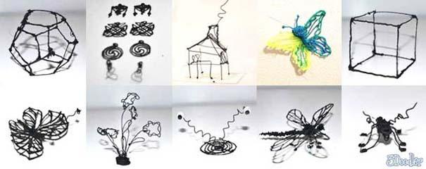3D Doodler: Το πρώτο στυλό που ζωγραφίζει σε 3D (1)