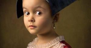 15 κλασσικοί πίνακες ζωγραφικής σε υπέροχες αναπαραστάσεις από 5χρονο κορίτσι