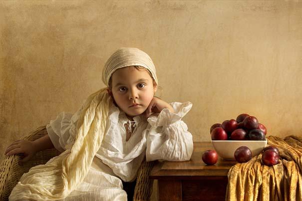 15 κλασσικοί πίνακες ζωγραφικής σε υπέροχες αναπαραστάσεις από ένα μικρό κορίτσι (13)
