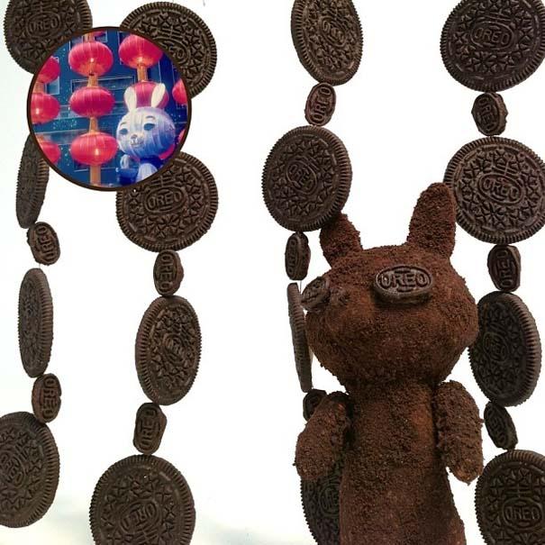 Απίστευτα γλυπτά από μπισκότα Oreo (1)