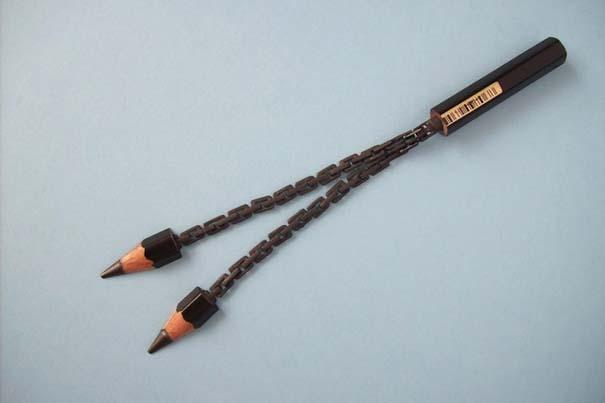 Απίστευτα γλυπτά μινιατούρες από μολύβια (4)