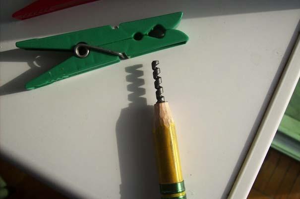 Απίστευτα γλυπτά μινιατούρες από μολύβια (6)
