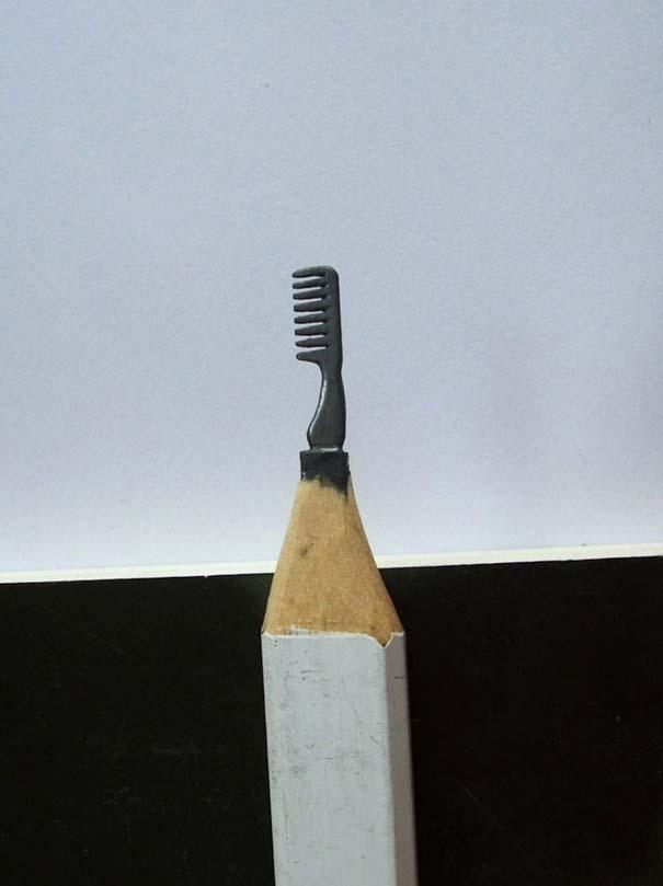 Απίστευτα γλυπτά μινιατούρες από μολύβια (14)