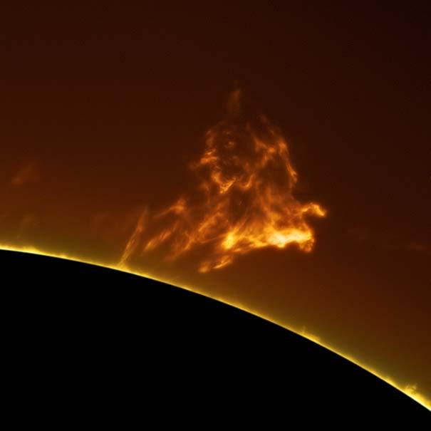 Άνδρας βγάζει απίστευτες φωτογραφίες του Ήλιου από την αυλή του (5)