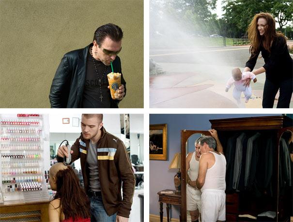 Celebrity πορτραίτα με... σωσίες διασήμων (12)
