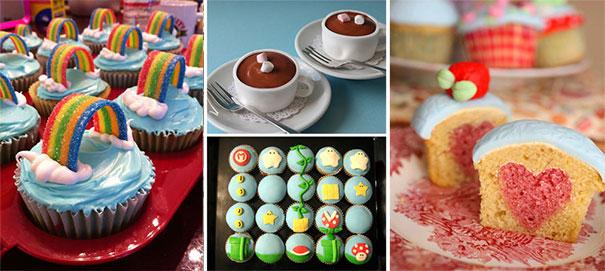 Cupcakes με μεγάλη φαντασία (25)