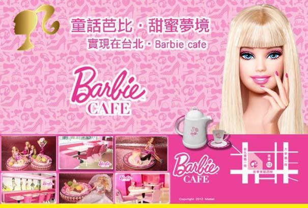 Ένα νέο εστιατόριο με το όνομα «barbie café