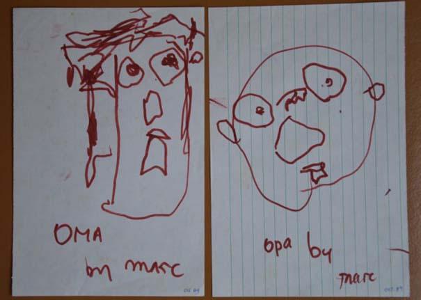 Η εξέλιξη ενός ζωγράφου από 2 μέχρι 25 ετών (1)