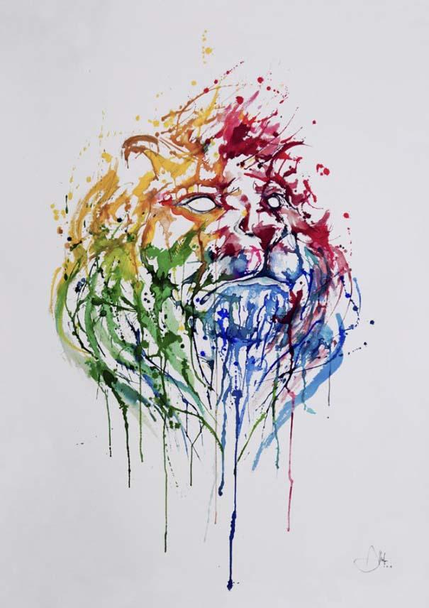 Η εξέλιξη ενός ζωγράφου από 2 μέχρι 25 ετών (21)