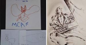 Η εξέλιξη ενός ζωγράφου από 2 μέχρι 25 ετών