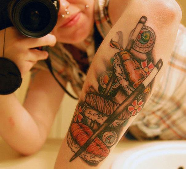 Όταν η αγάπη για το φαγητό γίνεται τατουάζ... (1)