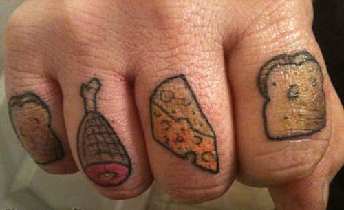 Όταν η αγάπη για το φαγητό γίνεται τατουάζ... (2)