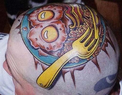 Όταν η αγάπη για το φαγητό γίνεται τατουάζ... (4)
