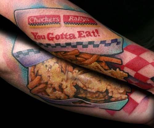 Όταν η αγάπη για το φαγητό γίνεται τατουάζ... (23)