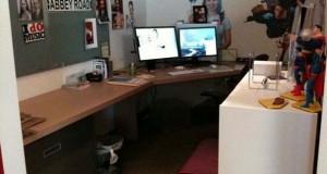 Γύρισε από άδεια και βρήκε το γραφείο του έτσι…