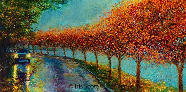 Η Iris Scott παίζει τη ζωγραφική... στα δάχτυλα (5)
