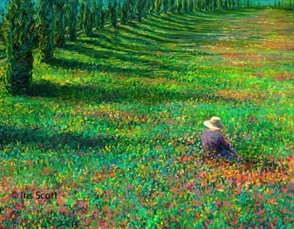Η Iris Scott παίζει τη ζωγραφική... στα δάχτυλα (6)